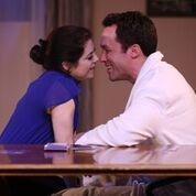 julie and robert kiss